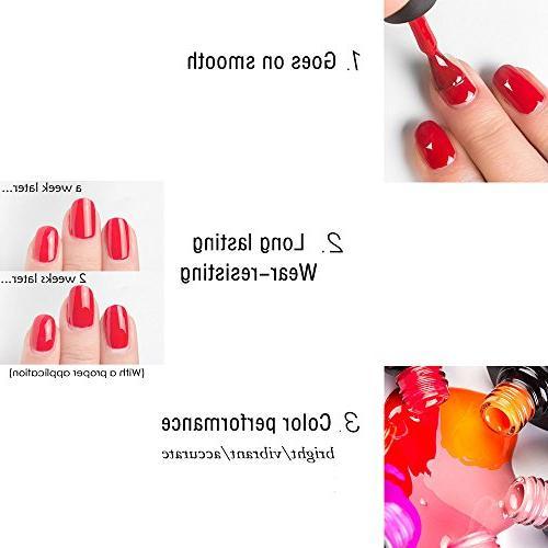 Gellen Set Nude Colors 4pcs/set 8ml Each