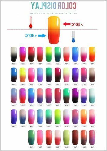 Belle UV Gel Polish Glitter BOX