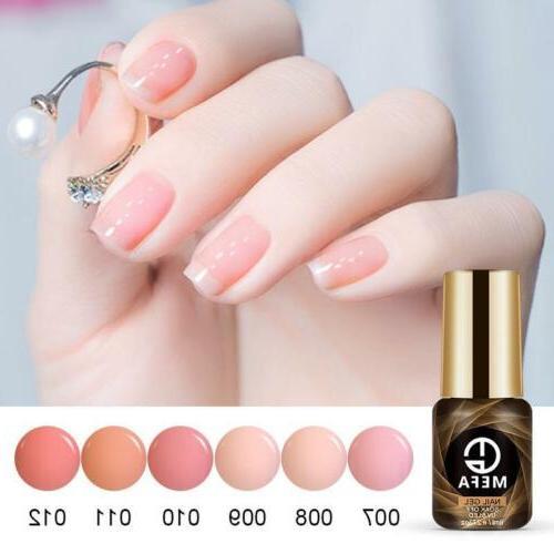 MEFA 4/5/6Pcs Nail Polish UV Soak Manicure Varnish