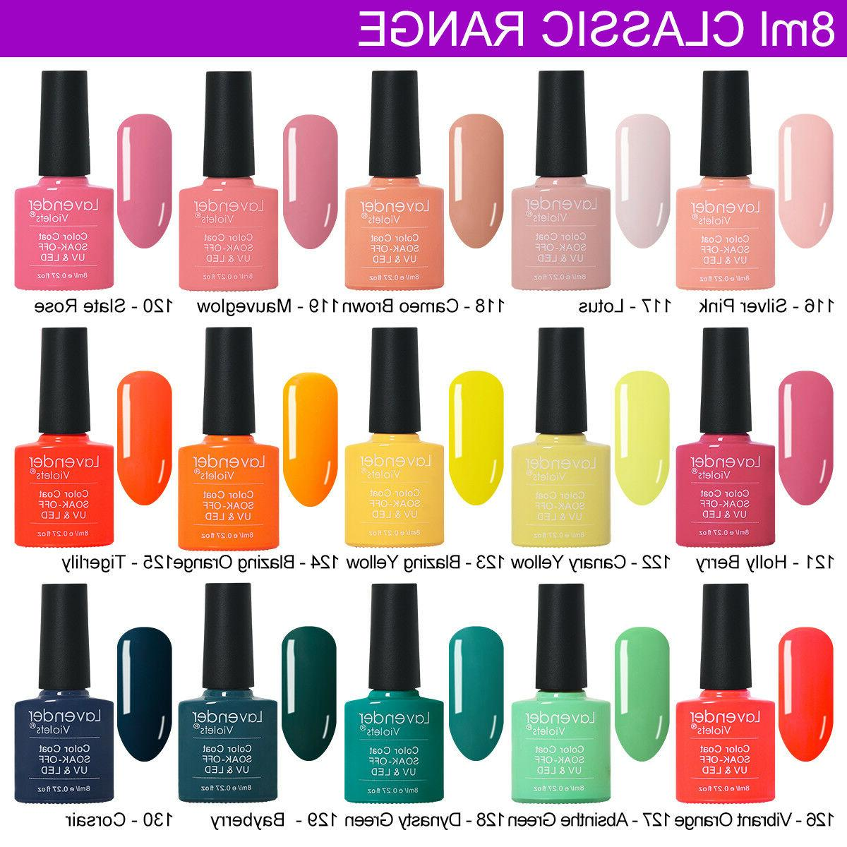 UV LED Nail Polish off Base Top 8ml