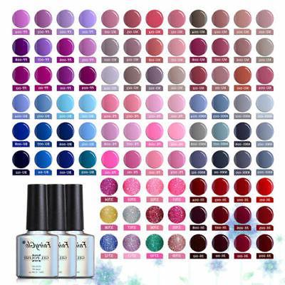 FairyGlo UV LED Wine/ Blue/ Nude/ Pink Gel Nail Polish Top B