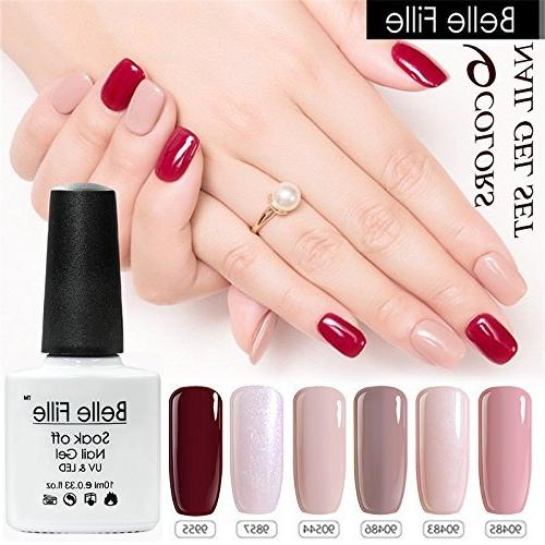 Belle Set Nail Varnish Manicure