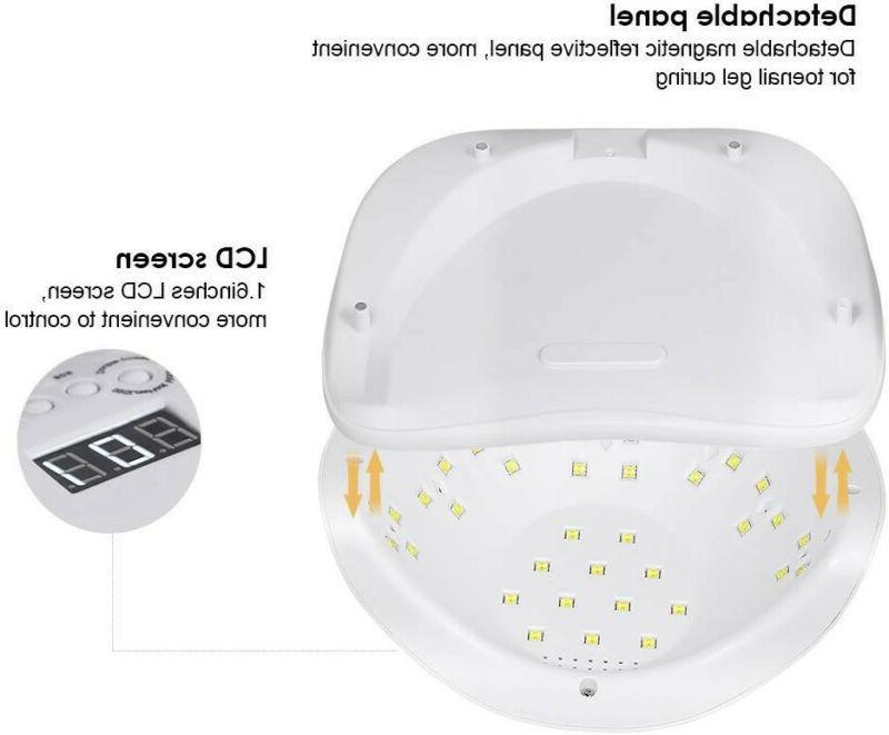 UV Nail Lamp LED Nail Dryer SUN X Pro Polish