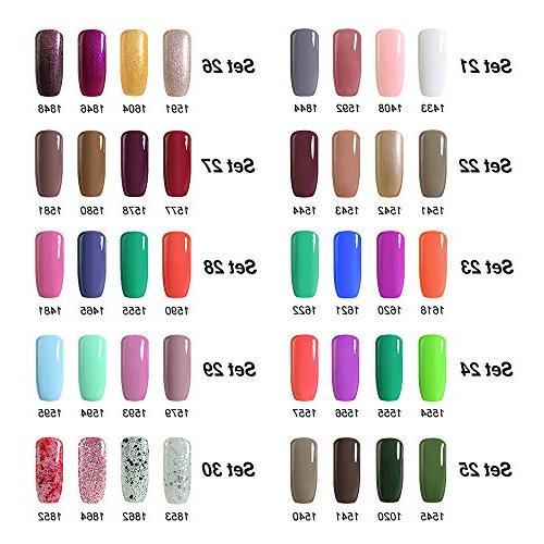 Arte Clavo 15ml Soak UV Nail Nail Art Salon Set