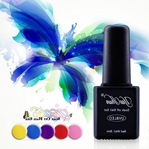 Yaoshun 8ml Soak Off Gel Polish Colors Kit