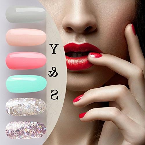 Yaoshun 8ml Soak Gel Gel Nail