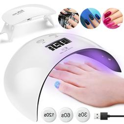 LED UV Nail Polish Dryer Lamp Gel Acrylic Curing Manicure Li