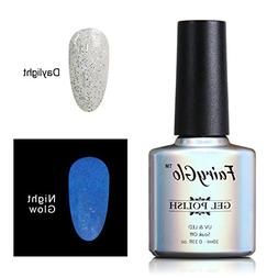 FairyGlo NightGlow Nail Polish UV LED Soak Off Dramatic Gel