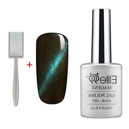 Elite99 Magnetic 3D Cat Eye Gel Polish Soak Off UV LED Nail