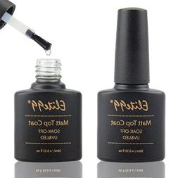 Elite99 Matte Top Coat Soak Off UV LED Gel Polish Nail Art M