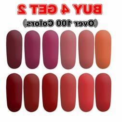 Matte Color Nail Gel Polish 126 Colors Top Base Coat UV/LED