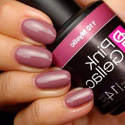 Pink Gellac #110 Mystic Soak-Off UV / LED Gel Polish