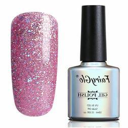 FairyGlo® Nail Gel 10ML UV Glitter Gel Nail Polish Bling Ge