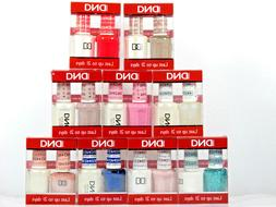 DND Nail Gel & Polish Combo Duo 401-584 Assorted Colors You