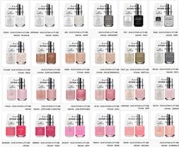 IBD Nail Just Gel Polish It's A Match Duo Variations 65463 t