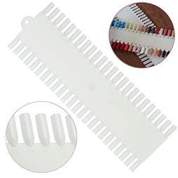 Professional Nail Art Palette With 48 False Nails / Plastic