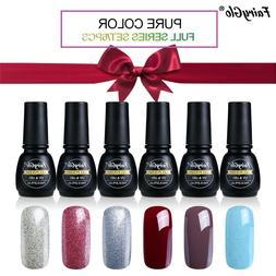 FairyGlo® Nail Polish Box Set 7ML UV Gel Nail Polish Black