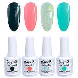 FairyGlo Nail polish UV LED Soak Off Gel Manicure Varnish Na