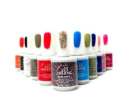 ibd Nail Soak off JUST GEL POLISH Assorted Colors Variety 56