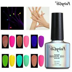 FairyGlo® Neon Gel 10ML Luminous Nail Gel Polish Glow In Th