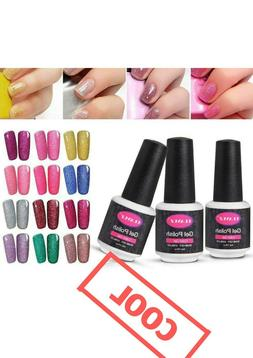 Neon Paint Nails Art Set 6pcs Varnish Fashion Shimmer Color