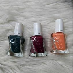 New Essie Gel Couture Set of 3 Nail Polish Full Size