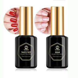 No Wipe Top Coat and Base Coat Set Nail Polish