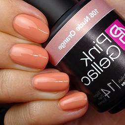 Pink Gellac #106 Nude Orange Soak-Off UV / LED Gel Polish