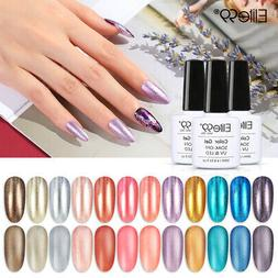 Elite99 Pearl Metal Gel Polish Soak Off UV Nail Varnish Prim
