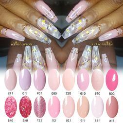 AIMEILI Pink Nail Gel Polish UV LED Soak Off Peach Pink Nude