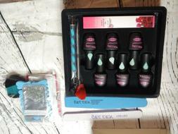 Gellen Portable Starter Kit - 4 Colors + base + top coat Gel
