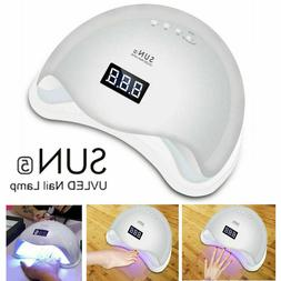 Professional LED UV Nail Dryer Gel Polish Lamp Salon Curing