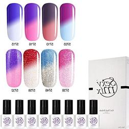 sexy mix gel nail polish
