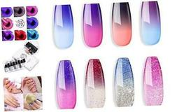 Sexy Mix Gel Nail Polish Set, UV Gel Color Changing Nail Pol