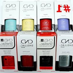 CND Shellac GelColor Nail Polish /Base /Top /Brand New Gel C
