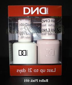 DND Daisy Soak Off Ballet Pink 601 Diva Collection 2016 LED/