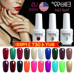 Soak Off Color Gel Nail Polish 15ML Manicure Elite99 Top Bas
