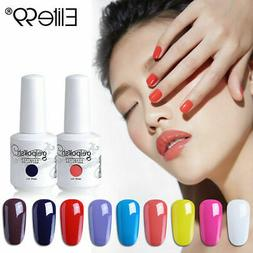 Soak Off Elite99 Colour Gel Nail Polish Lacquer Manicure 15M