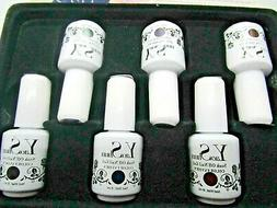 Yao Shun Soak Off Gel Fingernail Polish 6 Bottles