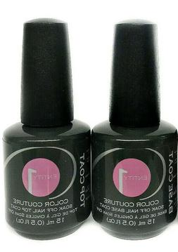 ENTITY One Color Couture Soak-off Gel Polish - BASE + TOP CO