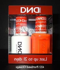 DND Daisy Soak Off Gel Polish Portland Orange 422 full size