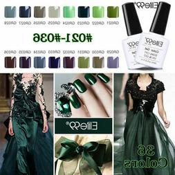 Soak Off Green Colour Series Gel Nail Polish Varnish Base To