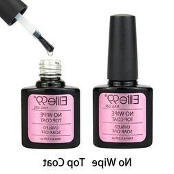 Elite99 Soak Off No Wipe Top Coat UV LED Manicure Gel Nail P