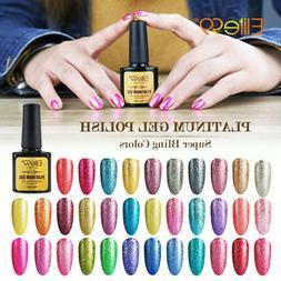 Elite99 Soak Off Platinum Gel Nail Polish UV LED Nail Art Ba