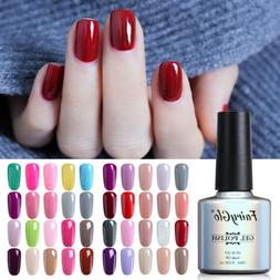 FairyGlo Soak Off UV LED 5PCS Gel Nail Polish Nail Varnish S