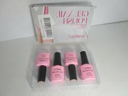 AIMEILI Soak Off UV LED Gel Nail Polish Set 17 Kit 4 Bottles