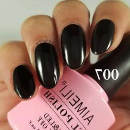 AIMEILI Soak Off UV LED Gel Nail Polish - Blackpool  10ml