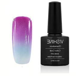 Vishine Soak Off UV LED Temperature Changing Color Gel Nail