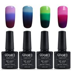 Elite99 Soak Off UV LED Temperature Color Changing Gel Nail