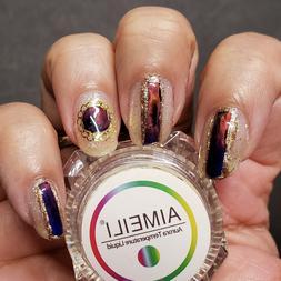 AIMEILI Thermochromic Liquid Colorful Gel Nail Polish Mood C